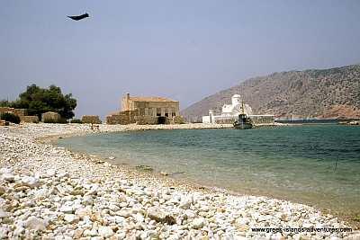 Alimnia - View to Halki
