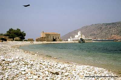 Alimnia - View to Halki