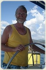 Mr. S at Helm