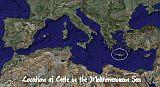Greek Islands Resources - Crete Location
