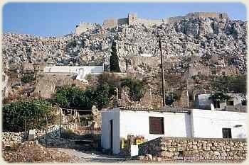 Halki - Chorio Deserted Village