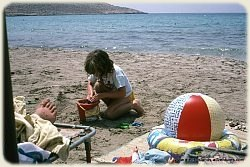 Halki - Sandcastles on Pondamos Beach