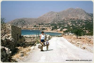 Halki - Walk to Pondamos Beach