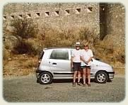 Island of Crete - Car at Fortress
