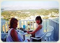 Island of Crete - Breakfast on the Balcony