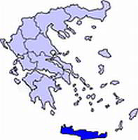 Island of Crete - Location