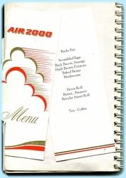 Kefalonia - Air 2000 Menu