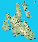 Kefalonia - Map