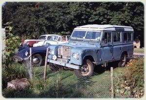 Kefalonia - Land Rover Series III