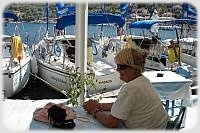 Sailing Flotilla - Kassos on day 1