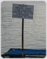 Sailing Flotilla - Lobster Sign at Frikes