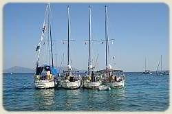 Sailing Flotilla - Rafted Up