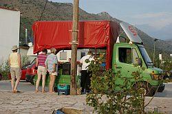 Sailing Flotilla - Veggie Truck
