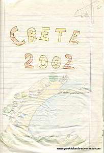 Island of Crete - Diary Front Page
