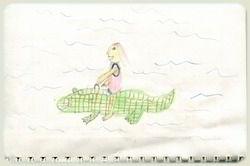 Kefalonia - Crocodile