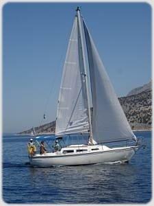 Sailing Flotilla - Jaguar 27