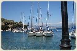 Sailing Flotilla - Long Lines to Shore